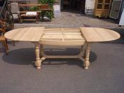 meubles encastr s table ovale avec rallonges occasion. Black Bedroom Furniture Sets. Home Design Ideas