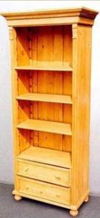 biblioth que en pin ouverte biblioth que bois meuble marcelis luc. Black Bedroom Furniture Sets. Home Design Ideas