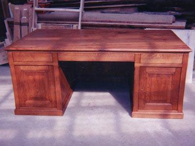Bureau sur mesure meuble marcelis luc for Meuble sur bureau