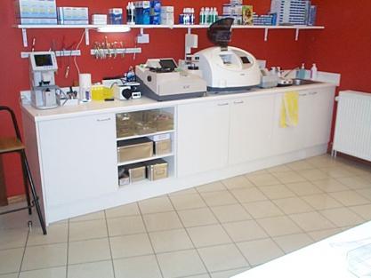 Comptoir de travail mobilier comptoir meuble marcelis luc - Comptoir pour boutique ...