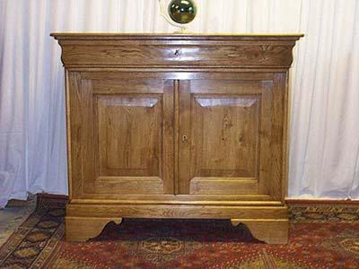 Dresse louis philippe en ch ne meuble dresse meuble - Repeindre meuble louis philippe ...