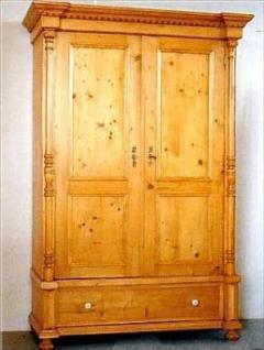 garde robes en pin 2 portes 1 tiroir sur mesure meuble marcelis luc. Black Bedroom Furniture Sets. Home Design Ideas