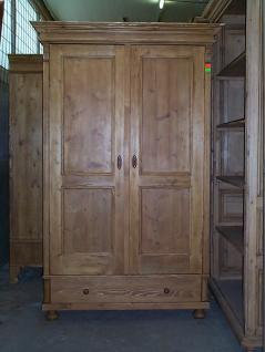garde robe en pin sur mesure 2 portes double panneaux 1 tiroir meuble marcelis luc. Black Bedroom Furniture Sets. Home Design Ideas
