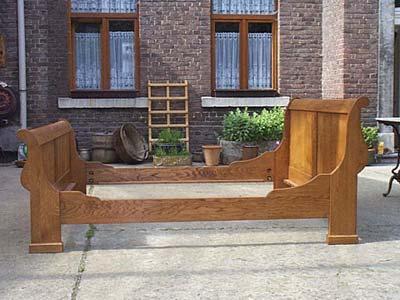 lit bateau louis philippe en ch ne lit chambre meuble marcelis luc. Black Bedroom Furniture Sets. Home Design Ideas