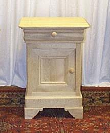 Table de nuit basse louis philippe meuble marcelis luc for Service a table a droite ou a gauche
