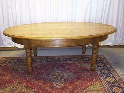 table ovale louis philippe table manger bois meuble marcelis luc. Black Bedroom Furniture Sets. Home Design Ideas